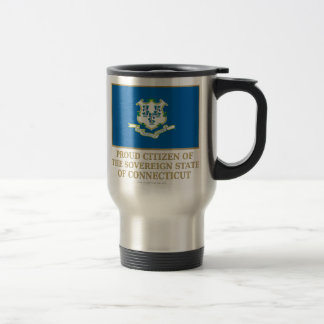 Proud Citizen of  Connecticut Travel Mug