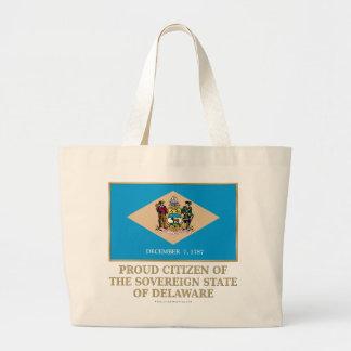 Proud Citizen of  Delaware Canvas Bag