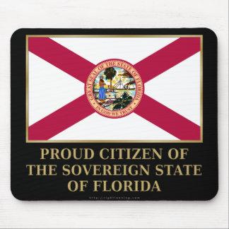 Proud Citizen of  Florida Mouse Pads