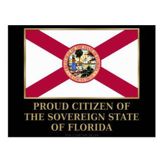 Proud Citizen of  Florida Postcard