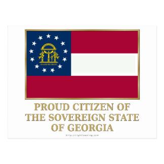 Proud Citizen of  Georgia Postcard