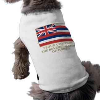 Proud Citizen of  Hawaii Doggie T Shirt