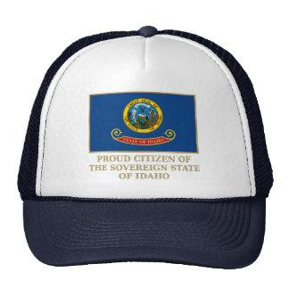 Proud Citizen of  Idaho Mesh Hats