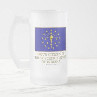 Proud Citizen of  Indiana Coffee Mugs