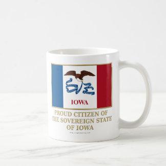 Proud Citizen of  Iowa Coffee Mugs