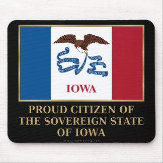 Proud Citizen of  Iowa Mousepad