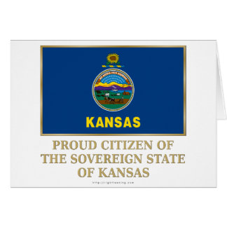 Proud Citizen of Kansas Card