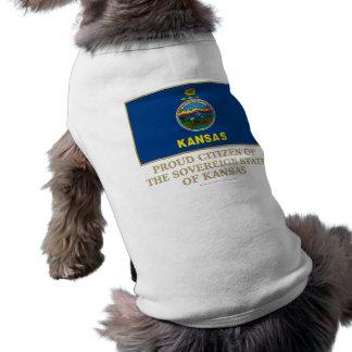Proud Citizen of Kansas Pet Shirt