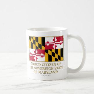 Proud Citizen of Maryland Coffee Mug