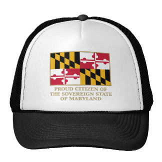 Proud Citizen of Maryland Mesh Hats