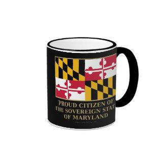 Proud Citizen of Maryland Mugs