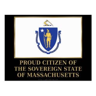 Proud Citizen of Massachusetts Post Cards