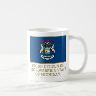 Proud Citizen of  Michigan Mugs