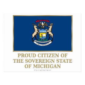 Proud Citizen of  Michigan Post Card