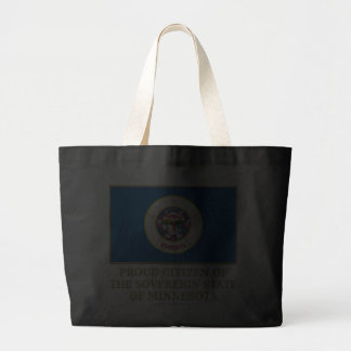 Proud Citizen of  Minnesota Canvas Bag
