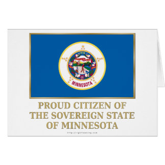 Proud Citizen of  Minnesota Card