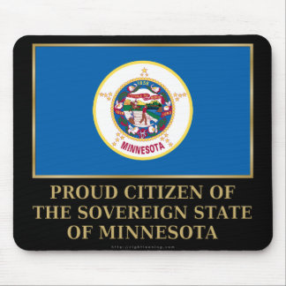 Proud Citizen of  Minnesota Mouse Pad