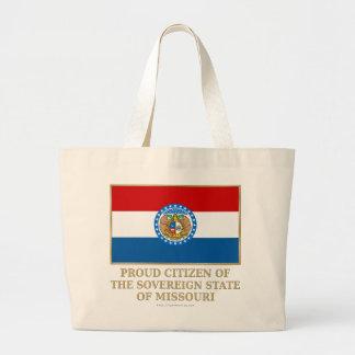 Proud Citizen of  Missouri Canvas Bag
