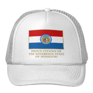 Proud Citizen of  Missouri Mesh Hats