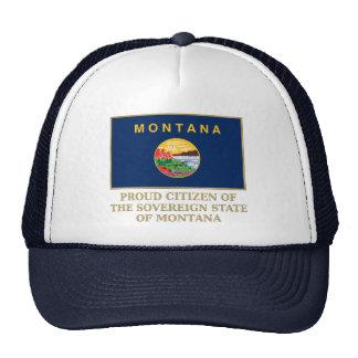 Proud Citizen of  Montana Trucker Hats
