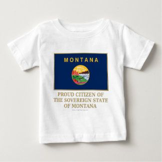 Proud Citizen of  Montana Infant T-shirt