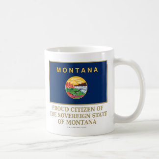 Proud Citizen of  Montana Mugs