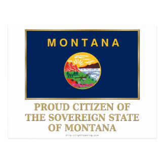 Proud Citizen of  Montana Post Cards