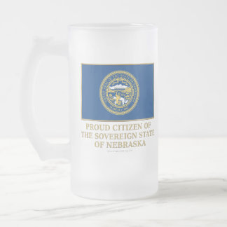 Proud Citizen of  Nebraska Coffee Mugs