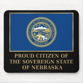 Proud Citizen of  Nebraska Mouse Pad