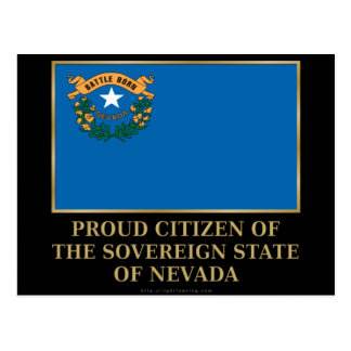 Proud Citizen of  Nevada Post Cards