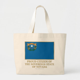 Proud Citizen of  Nevada Tote Bag