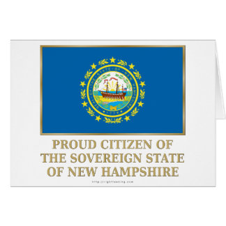 Proud Citizen of New Hampshire Card