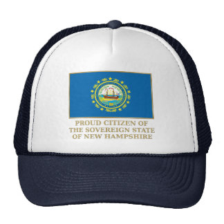 Proud Citizen of New Hampshire Mesh Hats