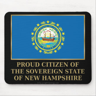 Proud Citizen of New Hampshire Mouse Pad