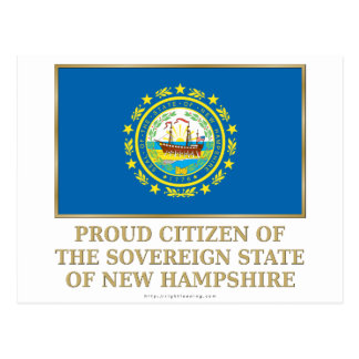 Proud Citizen of New Hampshire Post Card