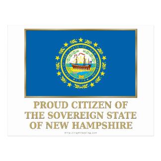 Proud Citizen of New Hampshire Postcard