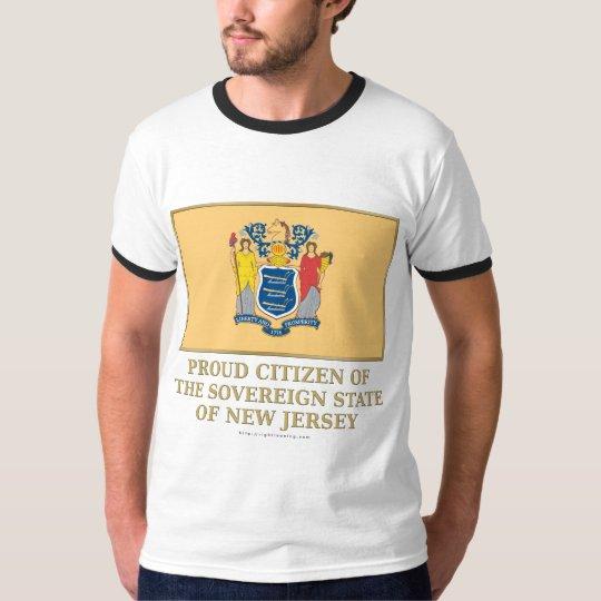 Proud Citizen of New Jersey T-Shirt
