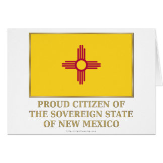 Proud Citizen of New Mexico Card