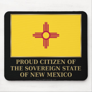 Proud Citizen of New Mexico Mouse Pad