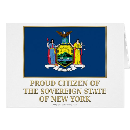Proud Citizen of New York Card