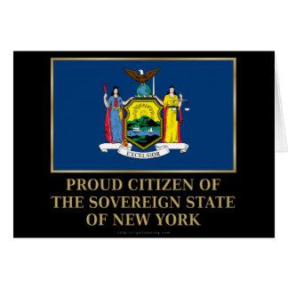 Proud Citizen of New York Card