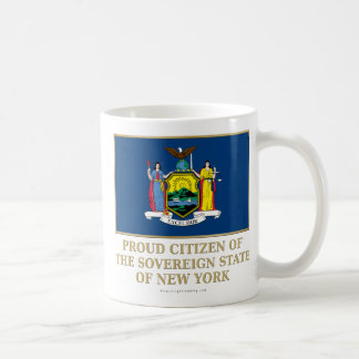 Proud Citizen of New York Coffee Mugs