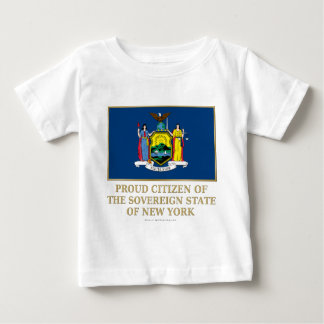 Proud Citizen of New York Infant T-shirt