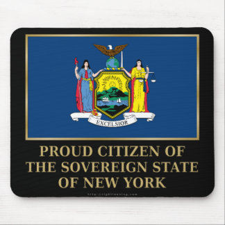 Proud Citizen of New York Mouse Pad