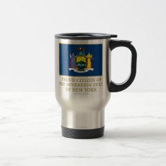 Proud Citizen of New York Mugs