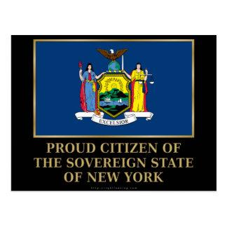 Proud Citizen of New York Postcard