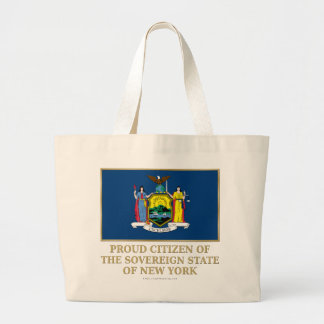 Proud Citizen of New York Tote Bags