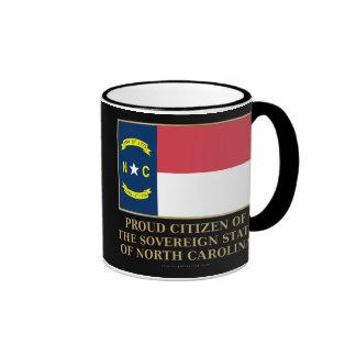 Proud Citizen of North Carolina Coffee Mugs