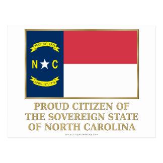 Proud Citizen of North Carolina Postcard