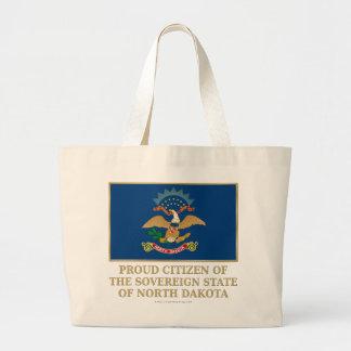 Proud Citizen of North Dakota Bag